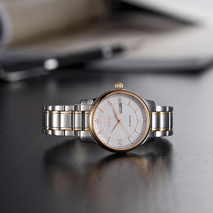 FIYTA Automatic Classic Double Calendar Male Watch GA8312.MWM Machtwatch