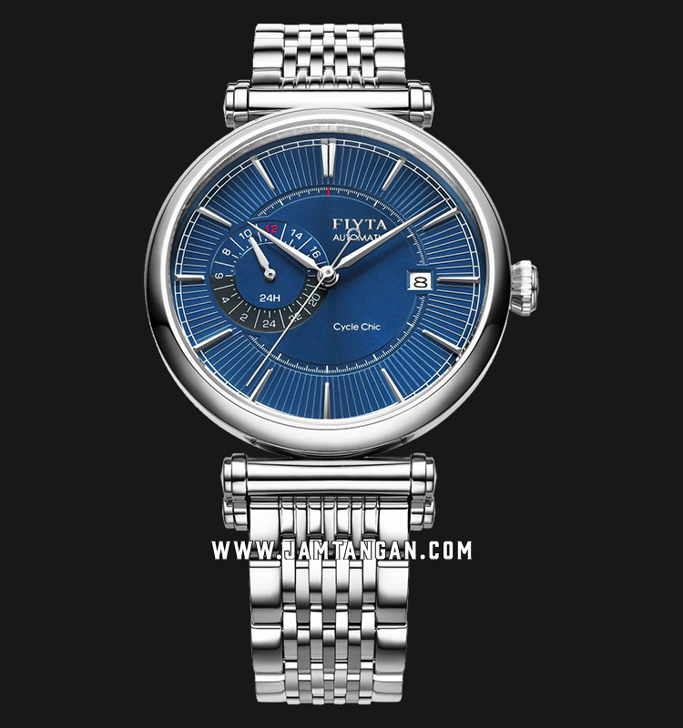 FIYTA GA850001.WLW Classic Automatic Man Blue Dial Stainless Steel Machtwatch