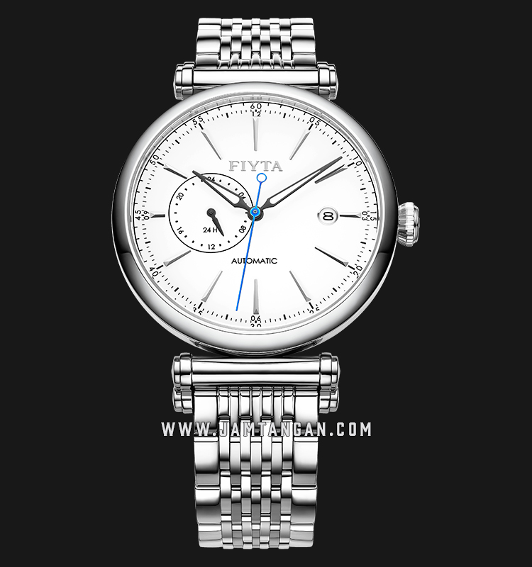 FIYTA GA850002.WWW Classic Automatic Man White Dial Stainless Steel Machtwatch