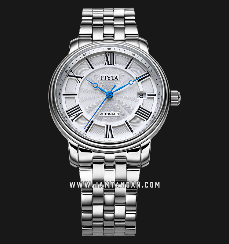 FIYTA GA8518.WWW Classic Automatic Man White Dial Stainless Steel Machtwatch