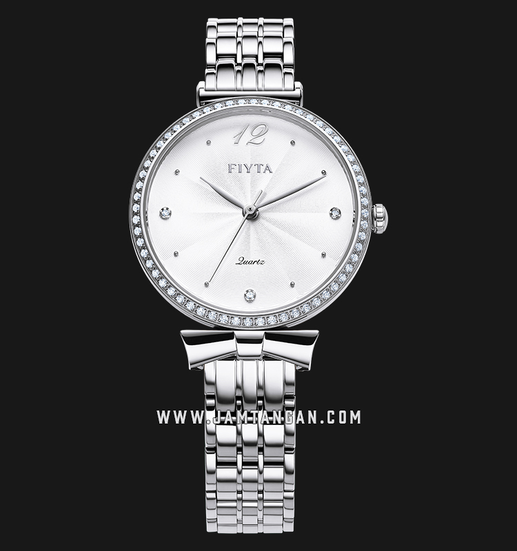 FIYTA L851000.WWWD Young+ Ladies White Dial Stainless Steel Machtwatch
