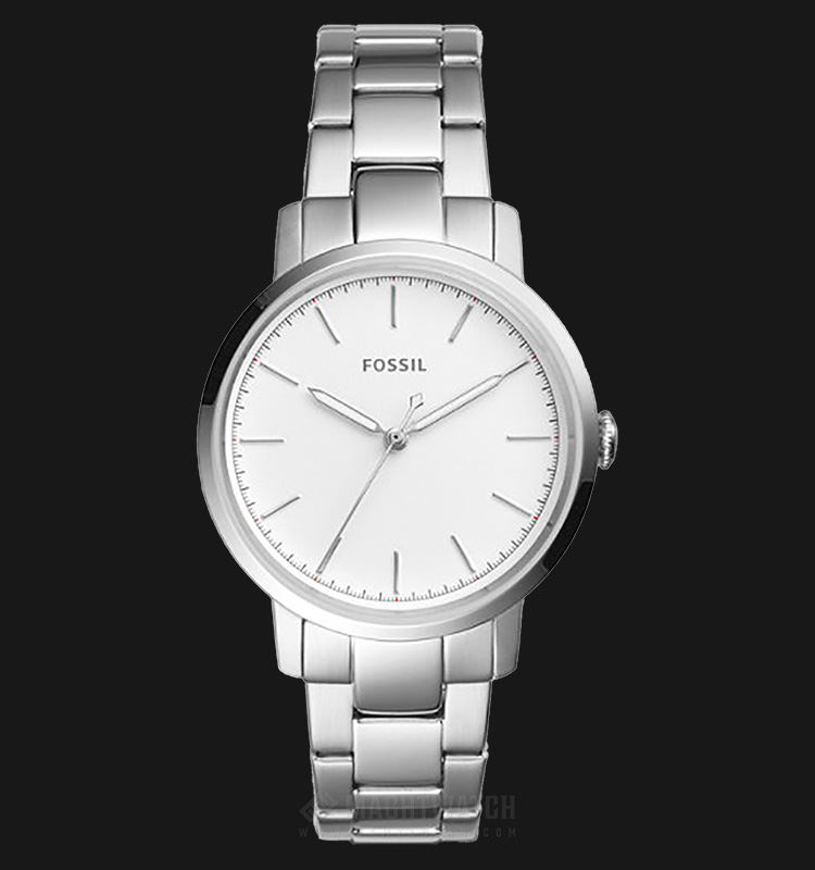 Fossil ES4183 Neely Ladies White Dial Stainless Steel Strap Machtwatch
