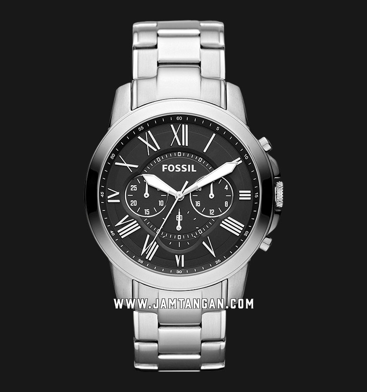 Fossil FS4736 Grant Chronograph Stainless Steel Machtwatch