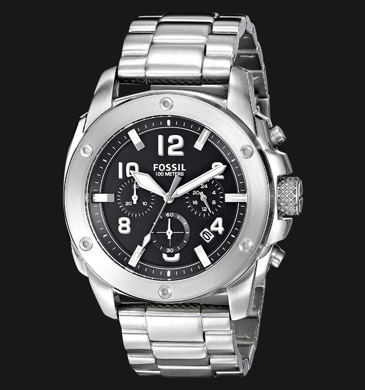 Fossil FS4926 Modern Machine Chronograph Stainless Steel Machtwatch