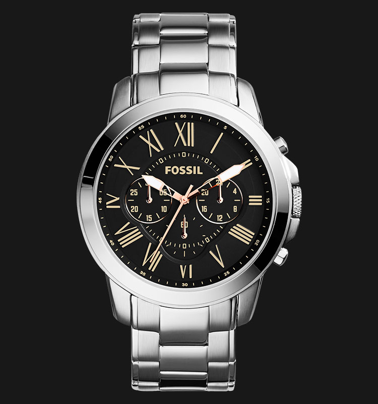 Fossil FS4994 Grant Chronograph Stainless Steel Machtwatch
