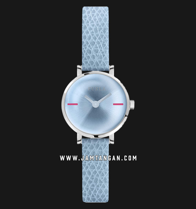 Furla Mirage R4251117501 Ladies Blue Dial Blue Leather Strap Machtwatch