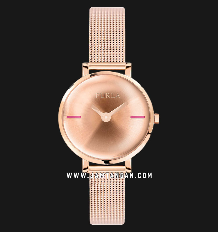 Furla Mirage R4253117506 Ladies Rose Gold Dial Rose Gold Stainless Steel Strap Machtwatch