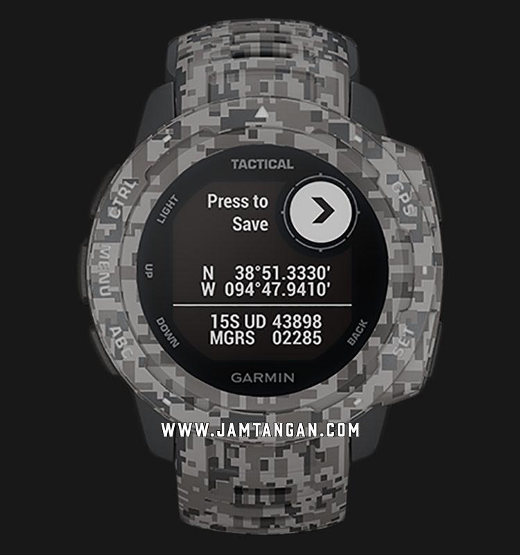 Garmin 010-02064-C4 Instinct Tactical Edition Digital Dial Graphite Camouflage Strap Machtwatch