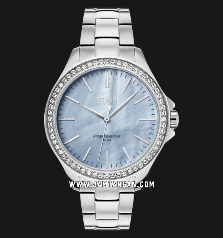 Hugo Boss Classic 1502457 Ladies Mother of Pearl Dial Stainless Steel Strap Machtwatch
