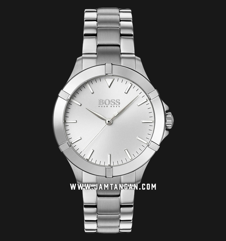 Hugo Boss Mini Sport 1502466 Ladies SIlver Dial Stainless Steel Strap Machtwatch