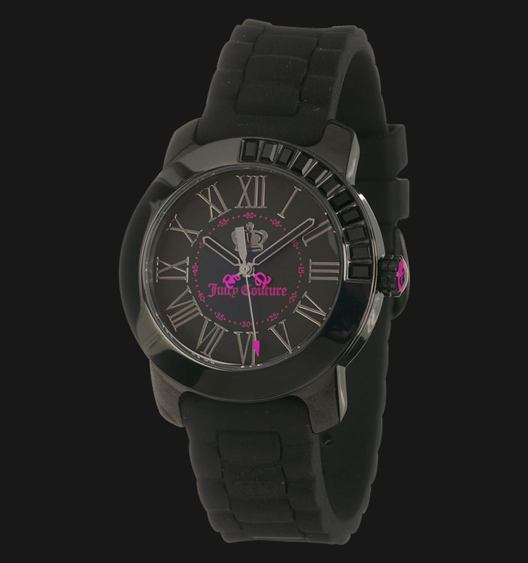 Juicy Couture 1900735 BFF Black Jelly Strap Ladies Watch Machtwatch
