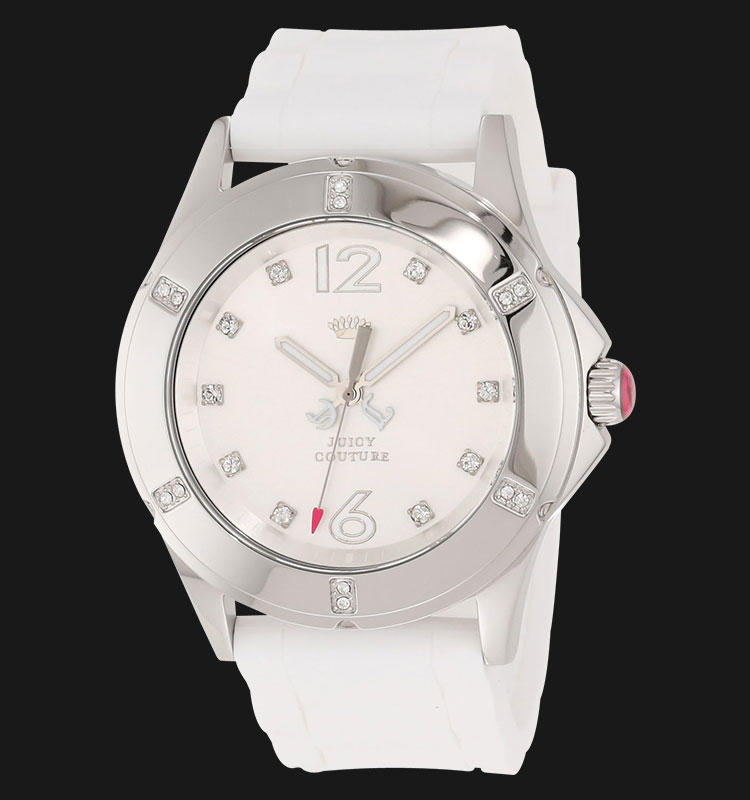 Juicy Couture 1900995 Rich Girl White Silicon Machtwatch