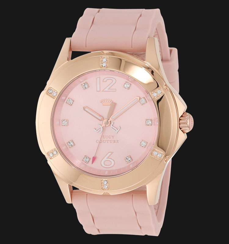 Juicy Couture 1900997 Rich Girl Pink Silicon Machtwatch