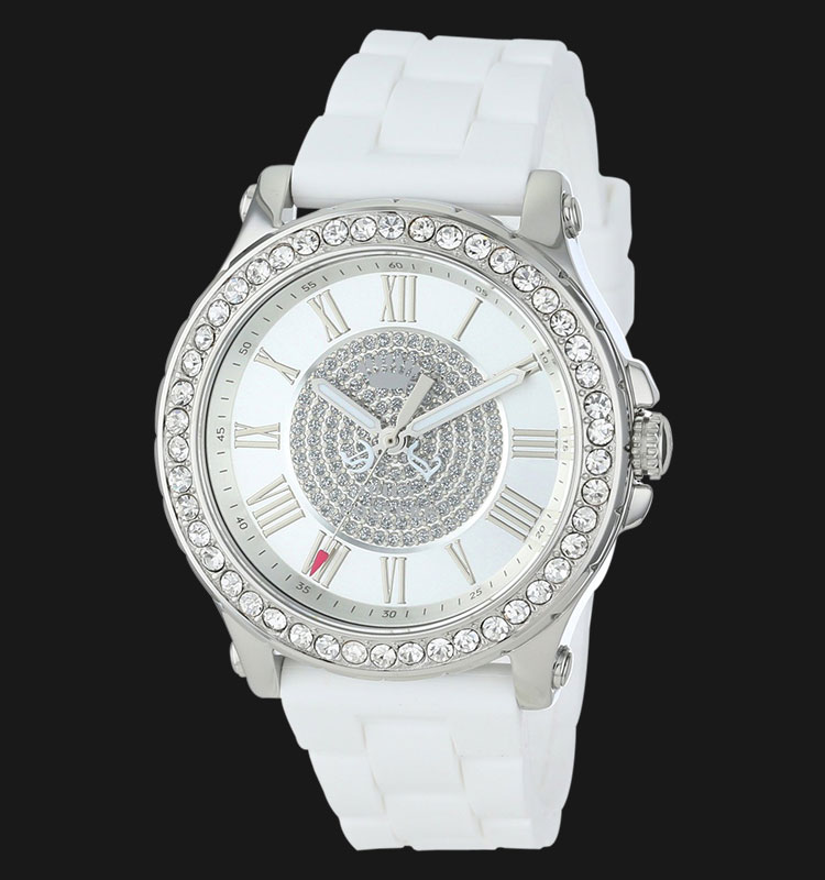 Juicy Couture 1901051 Pedigree White Silicon Machtwatch