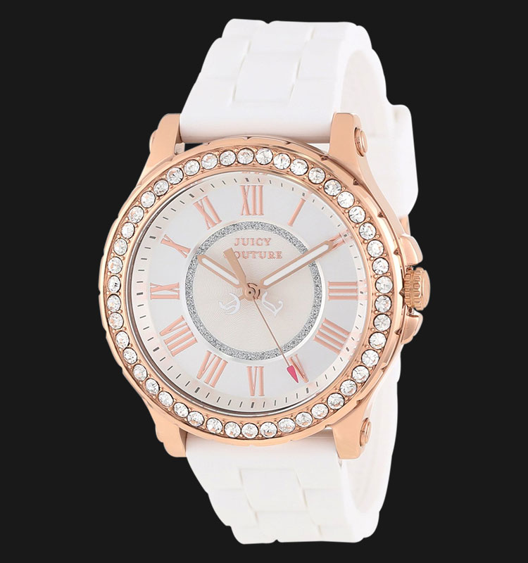 Juicy Couture 1901052 Pedigree White Silicon Machtwatch