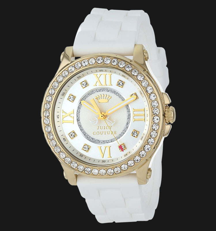 Juicy Couture 1901053 Pedigree White Silicon Machtwatch