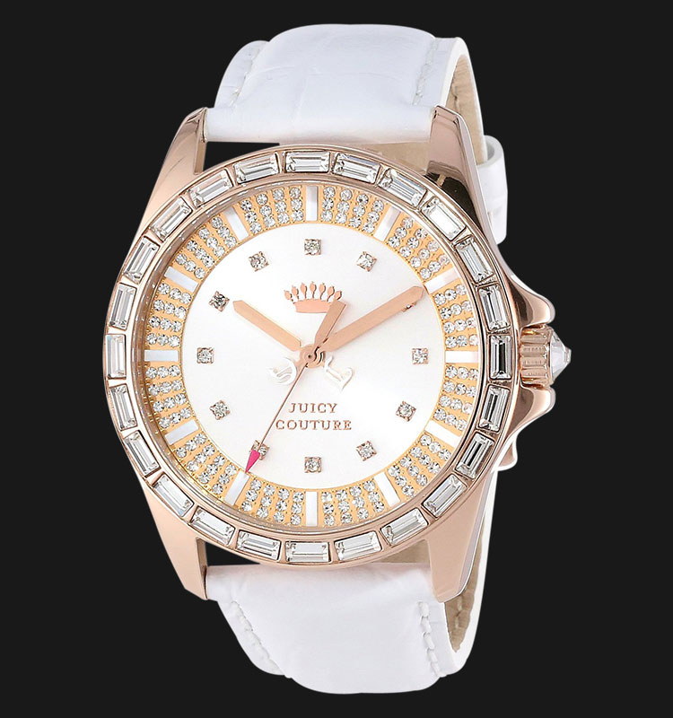 Juicy Couture 1901060 Stella White Leather Machtwatch