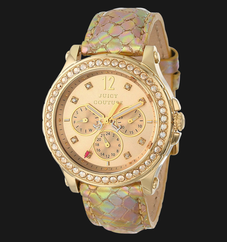 Juicy Couture 1901062 Pedigree Gold Metalic Leather Machtwatch