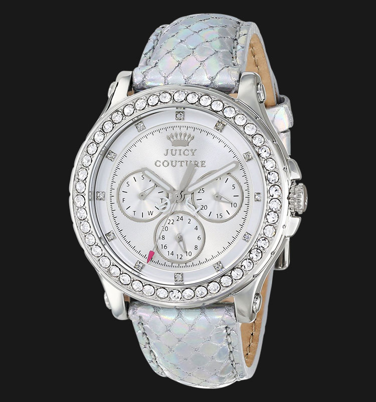 Juicy Couture 1901063 Pedigree Silver Metalic Leather Machtwatch