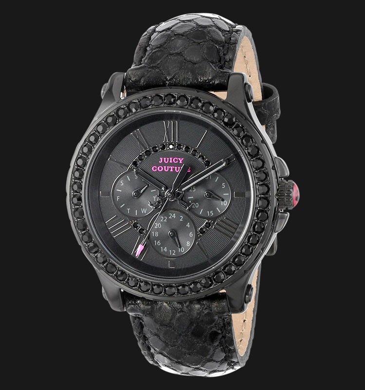 Juicy Couture 1901064 Pedigree Black Metalic Leather Machtwatch