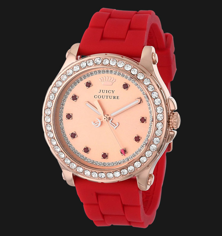 Juicy Couture 1901068 Pedigree Red Silicon Machtwatch