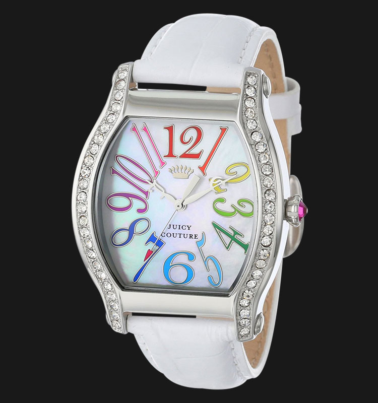 Juicy Couture 1901086 Dalton White Leather Machtwatch