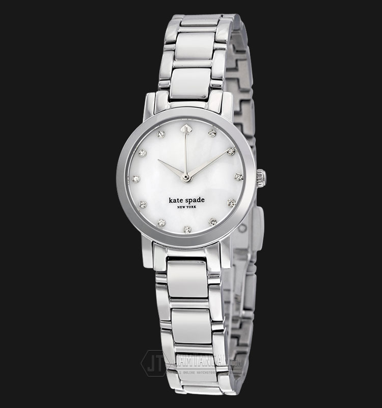 Kate Spade 1YRU0146 Gramercy Mini Mother of Pearl Dial Stainless Steel Watch Machtwatch