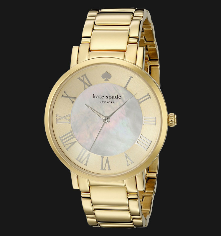Kate Spade 1YRU0472 Gramercy Mother Of Pearl Dial Stainless Steel Bracelet Machtwatch