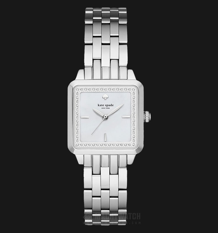 Kate Spade New York KSW1114 White Dial Stainless Steel Strap Machtwatch