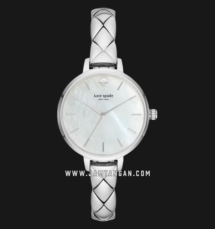 Kate Spade New York Metro KSW1465 Mother Of Pearl Dial Stainless Steel Strap Machtwatch