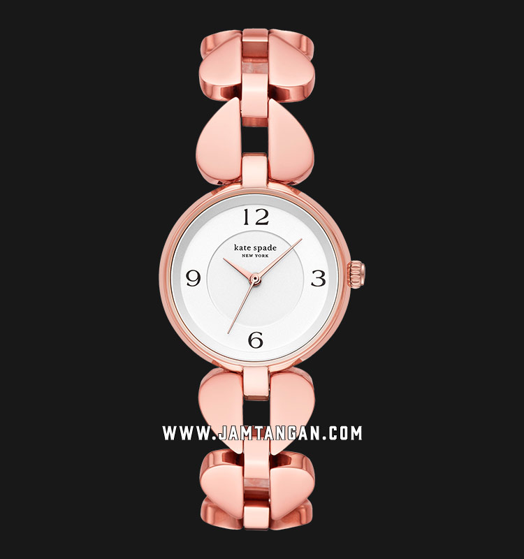 Kate Spade New York Annadale KSW1527 Silver Dial Rose Gold Stainless Steel Strap Machtwatch