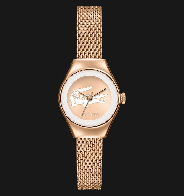 Lacoste 2000875 Valencia Rose Gold Ion SS Mesh Machtwatch