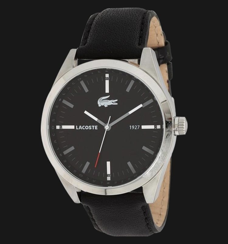 Lacoste 2010611 Montreal Black Leather Machtwatch
