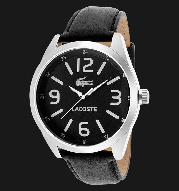 Lacoste 2010616 Montreal Black Leather Machtwatch