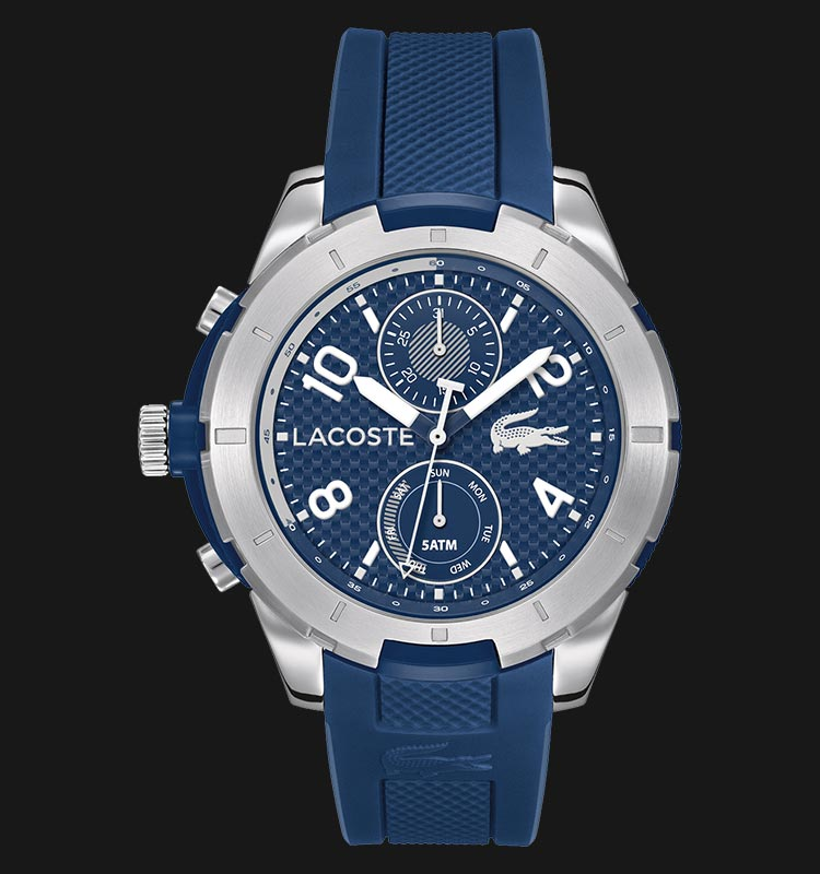 Lacoste 2010761 Tonga Blue Silicone Machtwatch