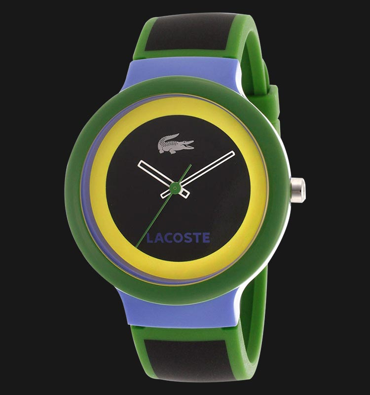Lacoste 2020032 Goa Black Silicone Machtwatch