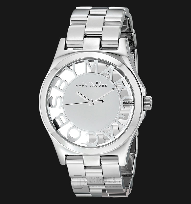 Marc Jacobs MBM3291 Slver dial Skeleton Stainless Steel Watch Machtwatch
