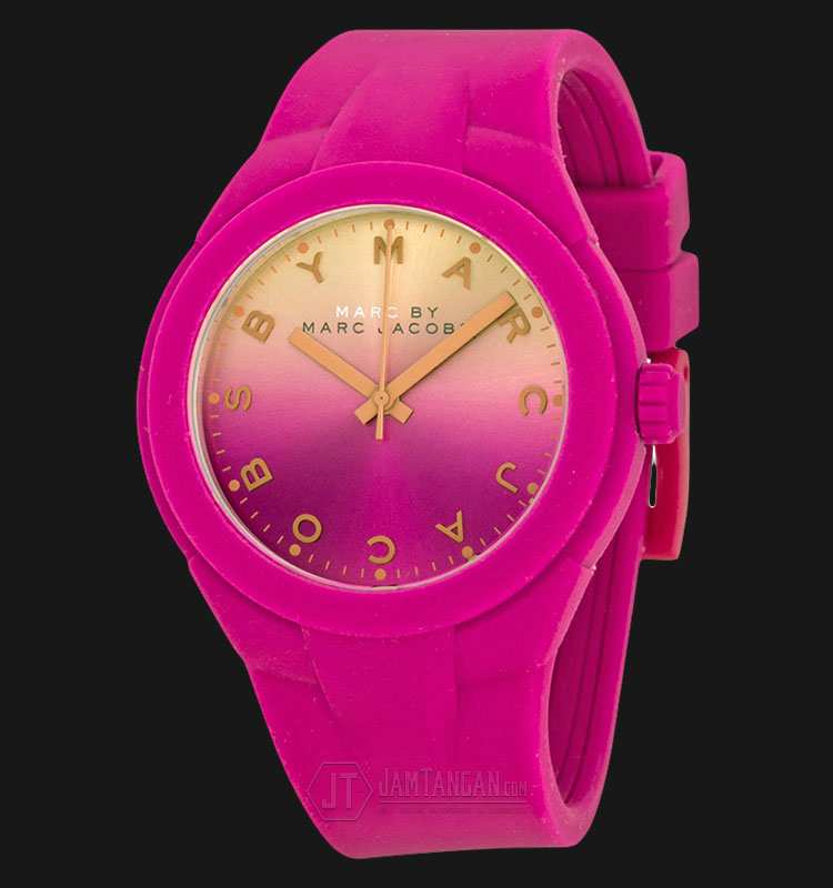 Marc Jacobs MBM5538 X UP ink Dial Pink Silicone Ladies Watch Machtwatch
