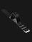 Strap Jam Tangan Leather Martini Latigo C13301_V2-20X20 Black 20mm Silver Buckle Thumbnail