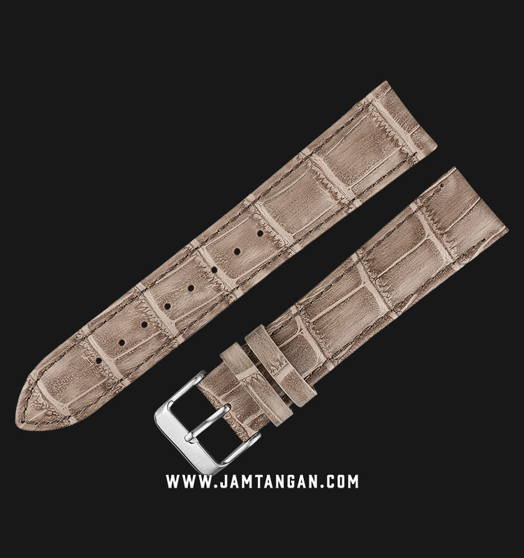Strap Martini South Africa 20mm Biege Leather Silver Buckle P22210-20X18 Machtwatch
