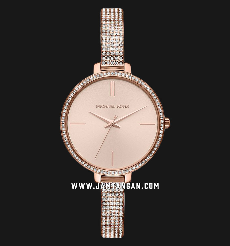 Michael Kors MK3785 Jaryn Rose Gold Dial Rose Gold Stainless Steel Strap Machtwatch