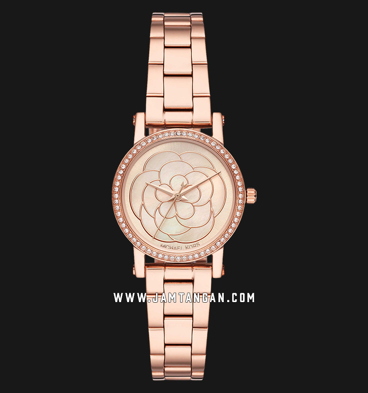 Michael Kors MK3892 Petite Norie Ladies Rose Gold Dial Rose Gold Stainless Steel Strap Machtwatch