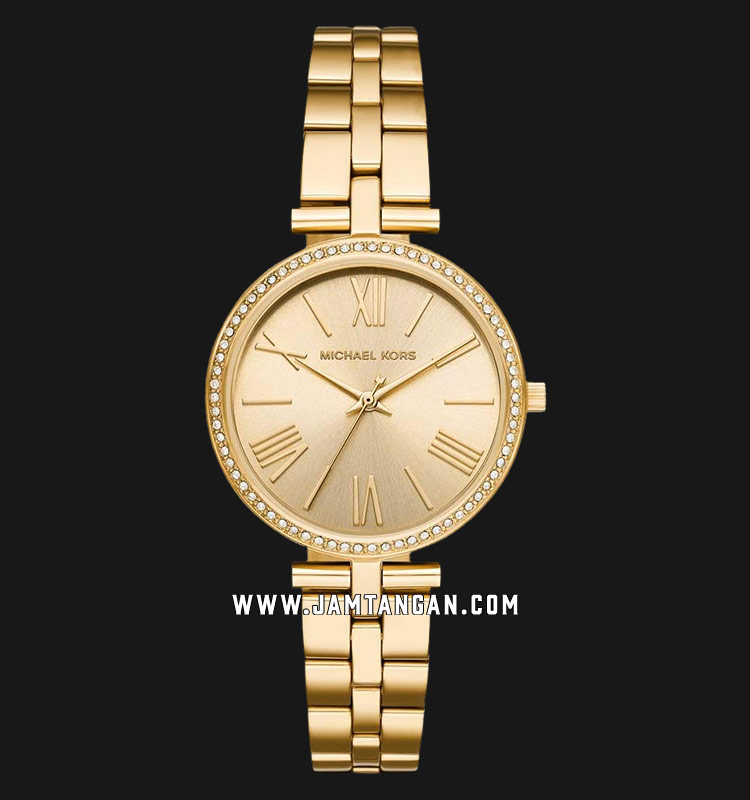 Michael Kors MK3903 Maci Gold Dial Gold Stainless Steel Strap Machtwatch