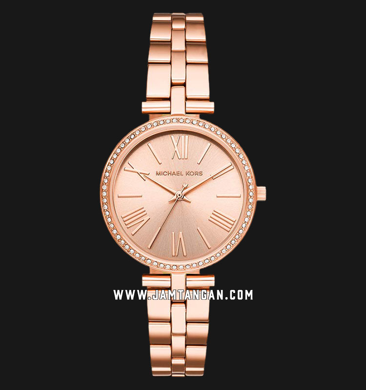 Michael Kors MK3904 Maci Rose Gold Dial Rose Gold Stainless Steel Strap Machtwatch