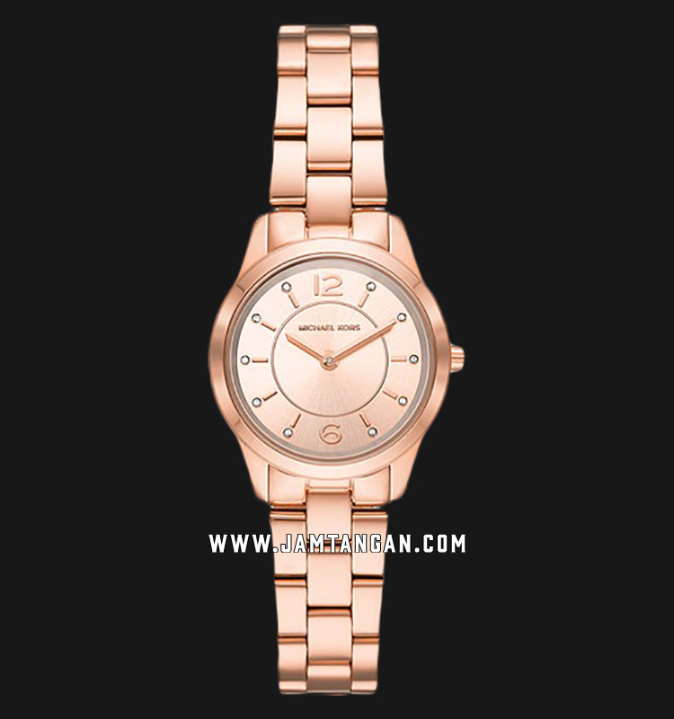 Michael Kors MK6591 Runway Rose Gold Dial Rose Gold Stainless Steel Strap Machtwatch