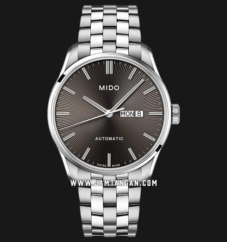 Mido M024.630.11.061.00 Belluna II Automatic Brown Dial Stainless Steel Strap Machtwatch