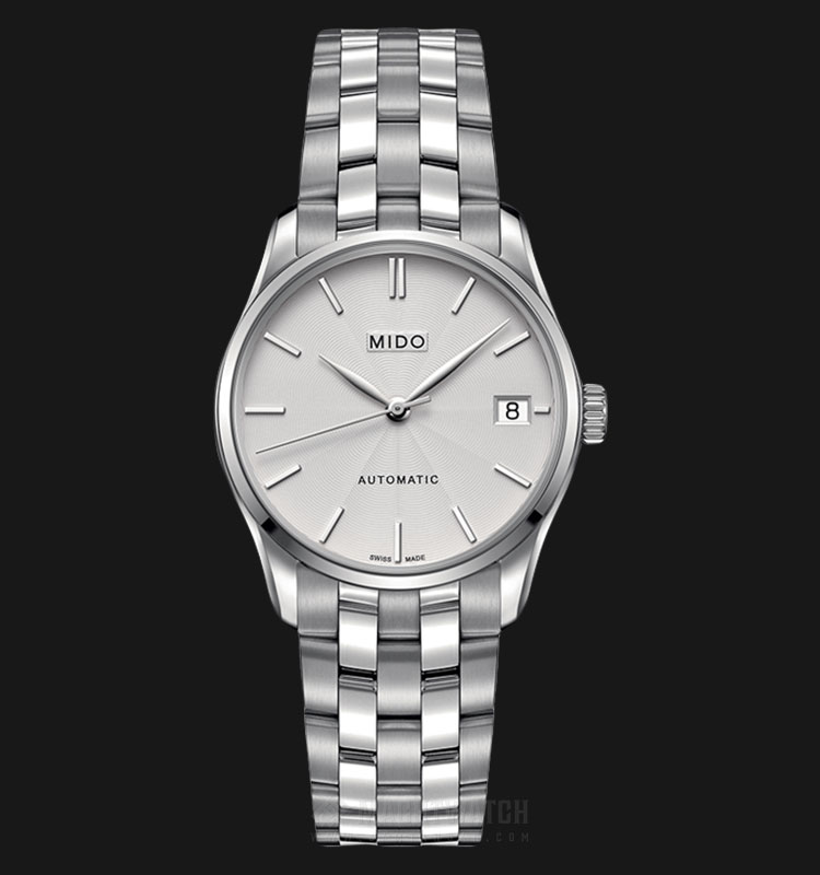 Mido M024.207.11.031.00 Belluna II Automatic Silver Dial Stainless Steel Strap Machtwatch