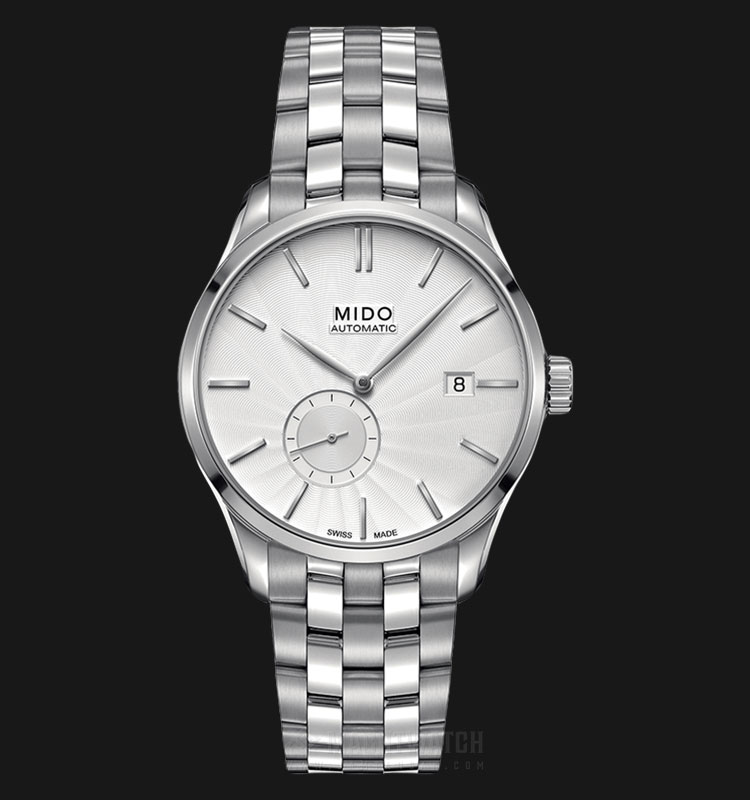 Mido M024.428.11.031.00 Belluna II Automatic Silver Dial Stainless Steel Strap Machtwatch
