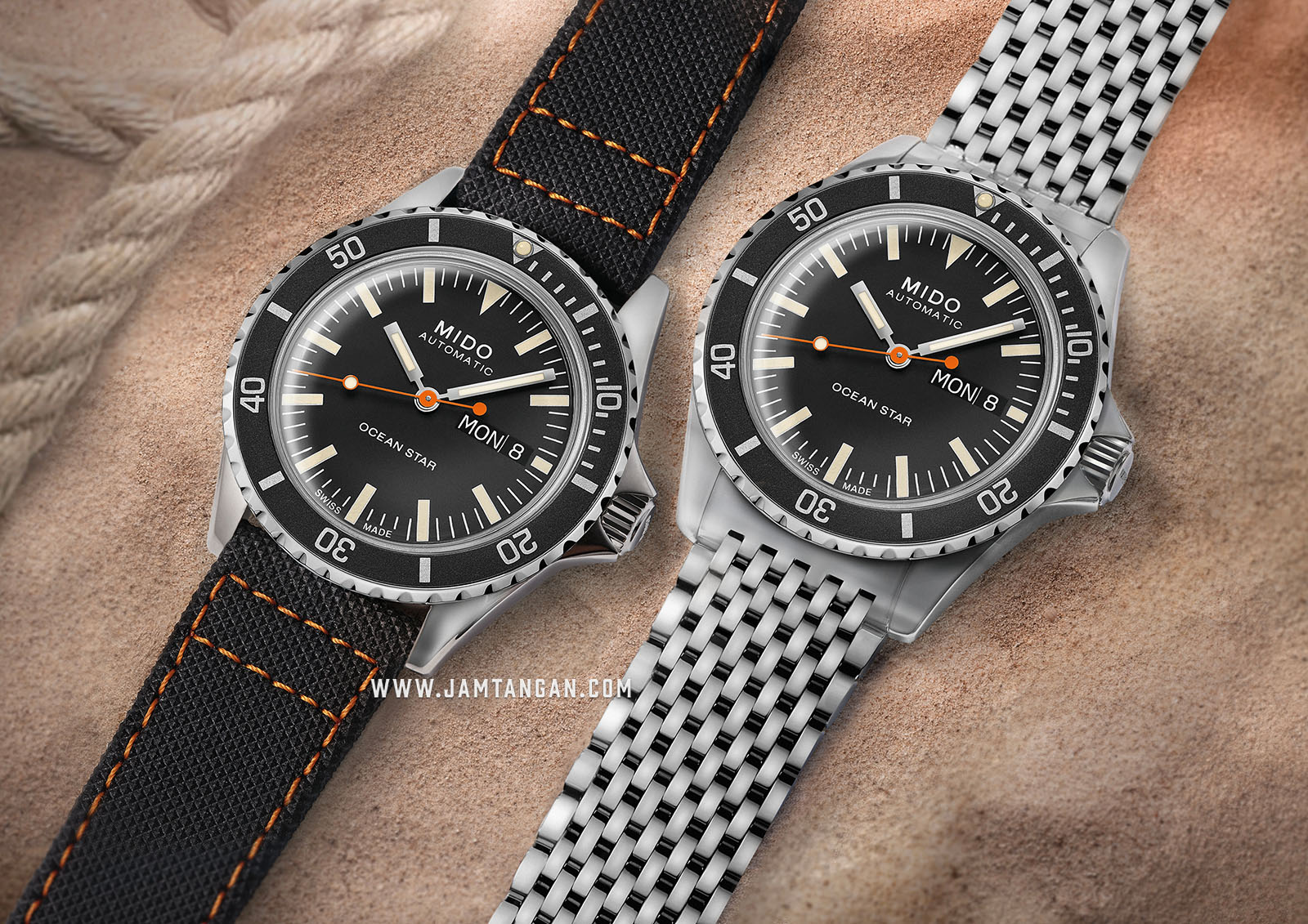 Mido M026.830.11.051.00 Ocean Star Tribute 75th Anniversary Black Dial St. Steel Special Edition Machtwatch