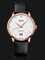 Mido M027.426.36.018.00 Baroncelli III Big Date Automatic White Dial Black Leather Strap Thumbnail